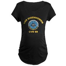 USS Eisenhower CVN-69 T-Shirt