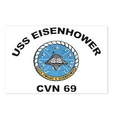 USS Eisenhower CVN-69 Postcards (Package of 8)