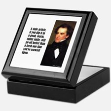 "Hawthorne ""Stale Article"" Keepsake Box"