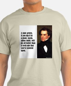 """Hawthorne """"Stale Article"""" T-Shirt"""