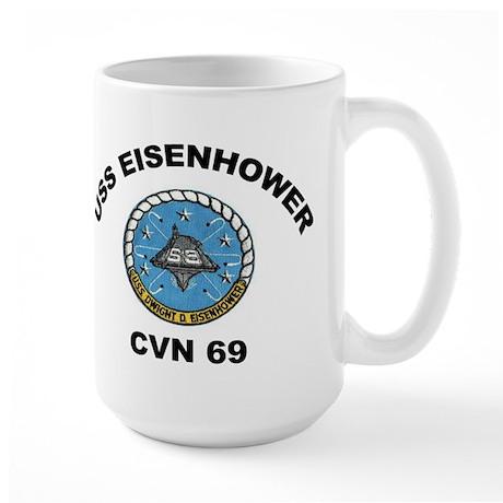 USS Eisenhower CVN-69 Large Mug