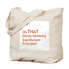 THAT Hardy-Weinberg Tote Bag