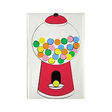 Bubble Gum Unique Graphic Rectangle Magnet