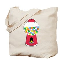 Bubble Gum Retro Tote Bag