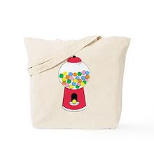Bubble Gum Retro Tote Bag