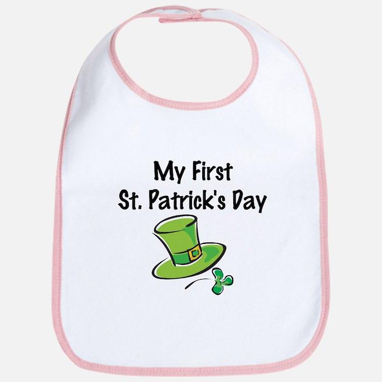 My First St. Patrick's Day Bib