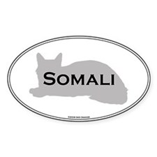 Somali Oval Oval Decal