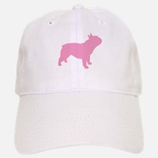 Pink French Bulldog Baseball Baseball Cap