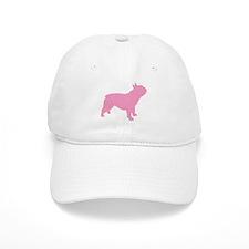 Pink French Bulldog Baseball Cap