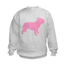 Pink French Bulldog Sweatshirt