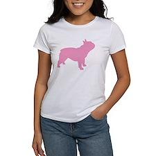 Pink French Bulldog Tee