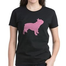 Pink French Bulldog Tee