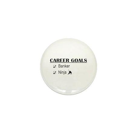Banker Career Goals Mini Button