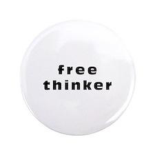 "Free thinker 3.5"" Button"
