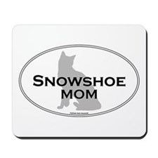 Snowshoe Mom Mousepad