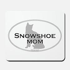 Snowshoe Mom Mousepad