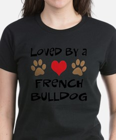 Loved By A French Bulldog Tee