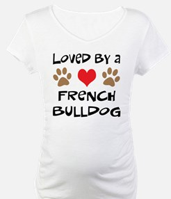 Loved By A French Bulldog Shirt