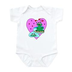Love Frogs Infant Bodysuit