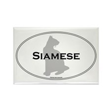 Siamese Oval Rectangle Magnet