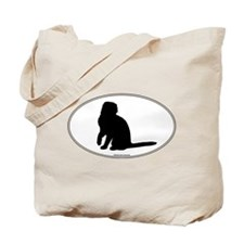 Scottish Fold Silhouette Tote Bag