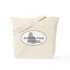 Scottish Fold Grandma Tote Bag