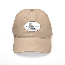 Scottish Fold Dad Baseball Cap