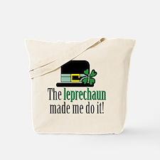 Leprechaun made me Tote Bag
