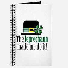 Leprechaun made me Journal