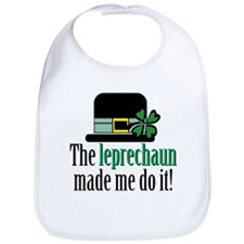 Leprechaun made me Bib
