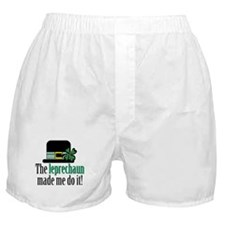 Leprechaun made me Boxer Shorts