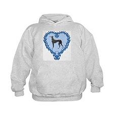 Greyhound Valentine Hoody