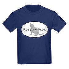 Russian Blue Oval T