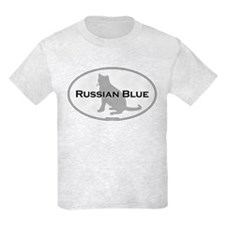 Russian Blue Oval T-Shirt