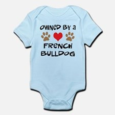 Owned By A French Bulldog Infant Bodysuit