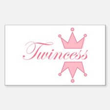 Twincess - Rectangle Decal