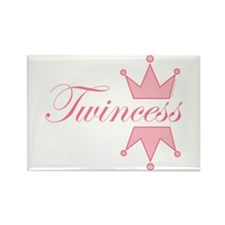 Twincess - Rectangle Magnet