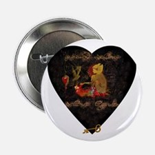 """Secret Garden"" 2.25"" Button"