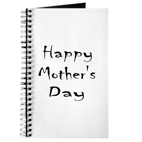 Happy Mother's Day - Black text Journal