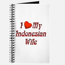 I Love My Indo Wife Journal