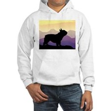 Frenchie Purple Mt. Hoodie