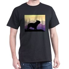 Frenchie Purple Mt. T-Shirt