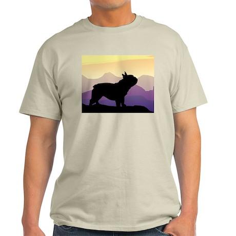 Frenchie Purple Mt. Light T-Shirt
