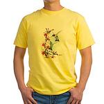 Ruby-throated Hummingbirds Yellow T-Shirt