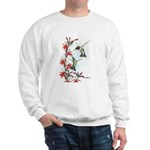 Ruby-throated Hummingbirds Sweatshirt