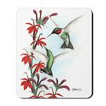 Ruby-throated Hummingbirds Mousepad