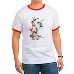 Ruby-throated Hummingbirds Ringer T
