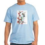 Ruby-throated Hummingbirds Light T-Shirt