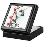 Ruby-throated Hummingbirds Keepsake Box