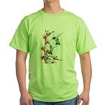 Ruby-throated Hummingbirds Green T-Shirt
